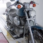 Motorcycle in MotoWash