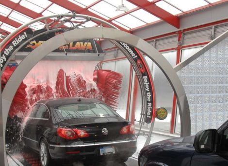 Tommy Car Wash Entrance Module
