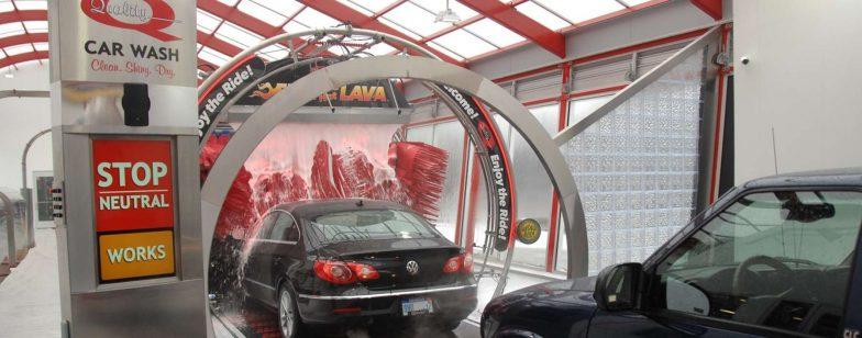 Tommy Car Wash Entrance Module
