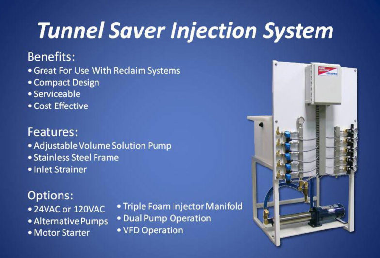 Carolina Pride Tunnel Saver Injection System