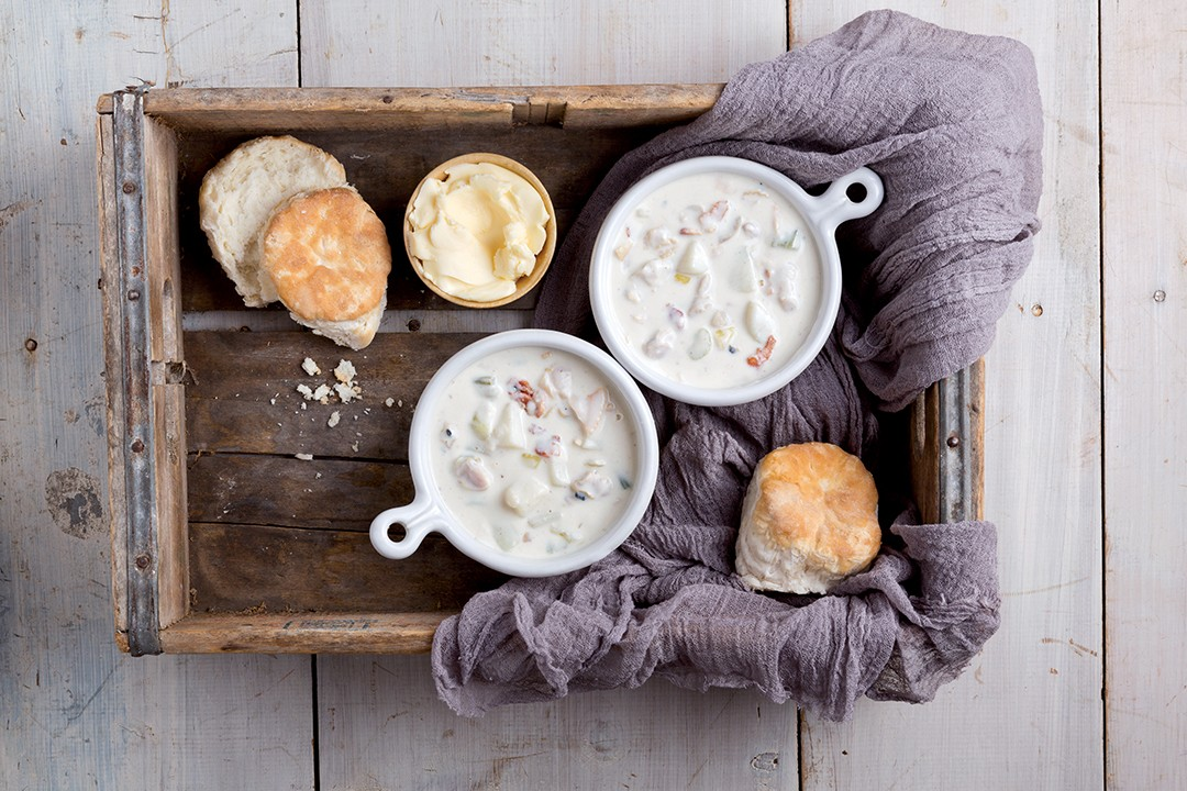 Will Brake For Food: New England Clam Chowder