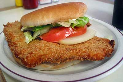 Will Brake For Food: Indiana's Tenderloin Sandwich